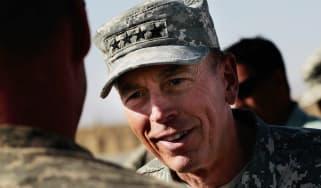 General David Petraeus during a 2010 visit to Kandahar, Afghanistan