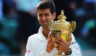 Novak Djokovic won the Wimbledon title in 2014
