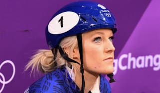 Elise Christie Team GB short-track speed skating Winter Olympics