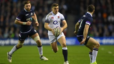 England fly-half George Ford in action against Scotland in the 2018 Six Nations