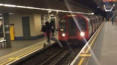 Stratford tube jump