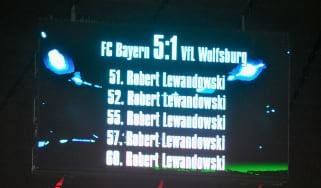 Lewandowski 5 goals