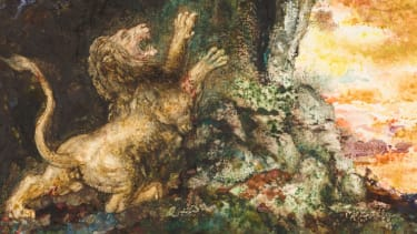 Gustave Moreau's 'The lion and the gnat'