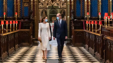 Kate and Will in Westminster Abbey