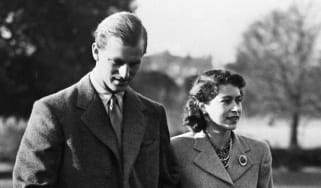 The Queen and Prince Philip pictured in 1947
