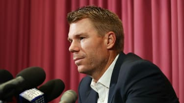 David Warner Australia cricket ball-tampering