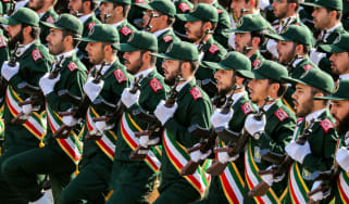 Revolutionary Guards Iran