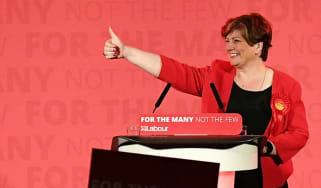 Emily Thornberry campaigning in the run up to June's general election