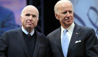 John McCain Joe Biden