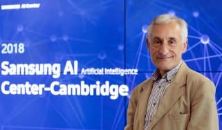 Professor Andrew Blake will lead the new AI research centre