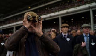Racegoers at the 2019 Cheltenham festival