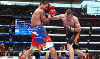Jeff Horn and Manny Pacquiao