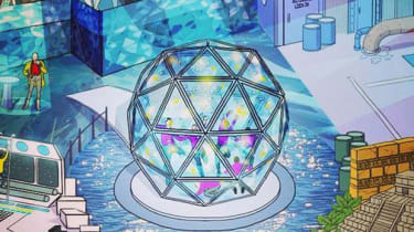 Artist's impression of the crystal maze