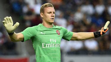 Bernd Leno Arsenal vs. Vorskla Poltava Europa League