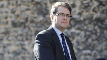Eliot Higgins is founder of online investigation website Bellingcat (Tolga Akmen/AFP via Getty Images)