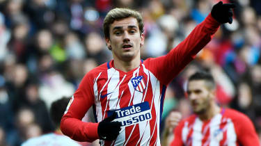 France forward Antoine Griezmann is expected to leave Atletico Madrid