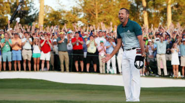 Sergio Garcia The Masters golf major 2017