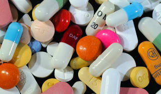 A variety of pills and drugs