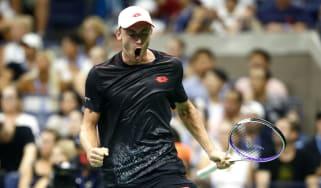 John Millman Roger Federer US Open tennis