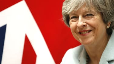 Theresa May has had little reason to smile since last year's disastrous election