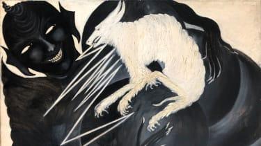 Painting from The Medium's Medium exhibition