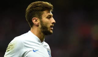 Adam Lallana during England's recent clash with Peru