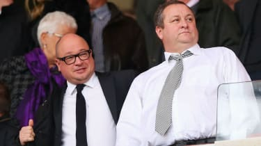 Lee Charnley, Mike Ashley, Newcastle United