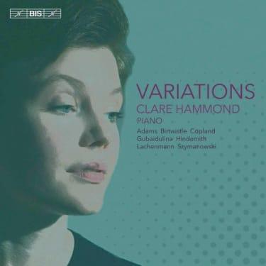 Clare Hammond  Variations