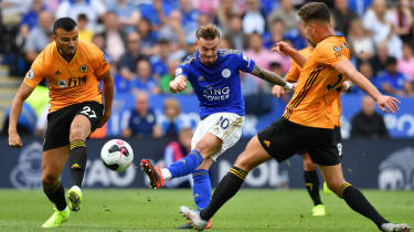 Leicester City and Wolves played out a 0-0 draw at the King Power Stadium in August 2019