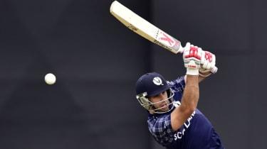 Kyle Coetzer of Scotland cricket team