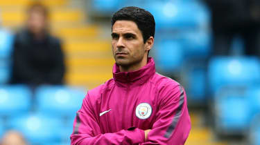 Manchester City coach Mikel Arteta looks set to take over at Arsenal
