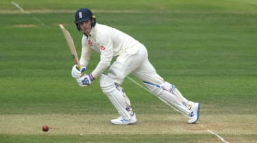 England batsman Jason Roy made his Test debut against Ireland at Lord's