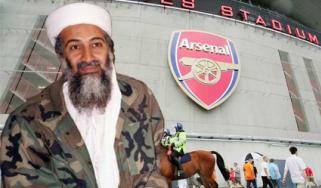 Osama bin Laden Emirates Stadium Arsenal