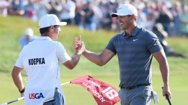Brooks Koepka US Open golf