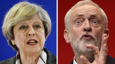 May vs Corbyn