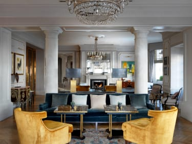 The Kensington hotel drawing rooms