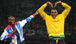 Mo Farah Usain Bolt 2012