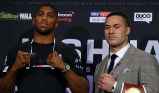 Joshua vs. Parker boxing predictions betting odds and live stream