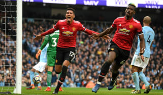 Chris Smalling winner Man City 2 Man Utd 3