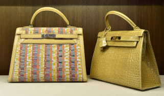 Hermes handbags (Stan Honda/AFP via Getty Images)