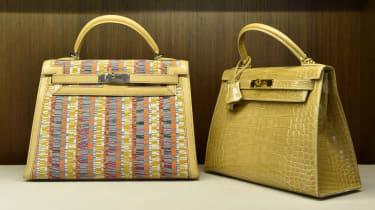 Hermes handbags (Stan Honda/AFP via Getty Images)