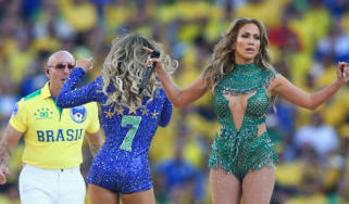 World Cup opening ceremony, J-Lo, Pitbull, Leitte