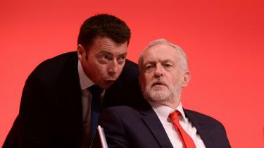 Jeremy Corbyn, Iain McNicol