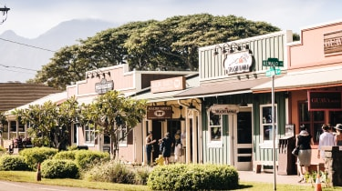 The laid back town of Haleiwa on Oahu's north shore is a throwback to surf culture of the 1950s and 60s