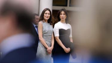 Samantha Cameron and Carla Bruni-Sarkozy