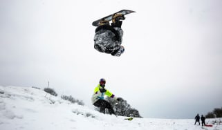 Billy Morgan snowboarder Team GB Essex Beast from the East