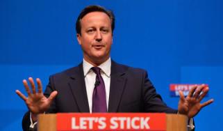 David Cameron in Aberdeen