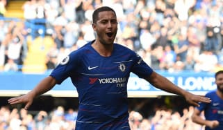 Chelsea and Belgium ace Eden Hazard has been linked with Spanish giants Real Madrid