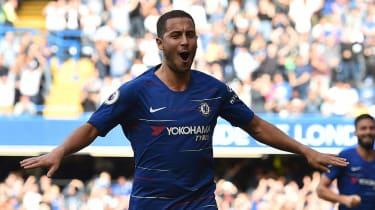 Chelsea and Belgium ace Eden Hazard has been linked with Spanish giants Real Madrid