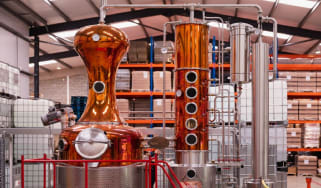 Masons distillery in Yorkshire